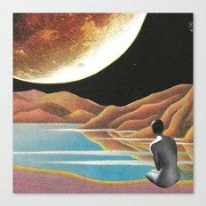 Saluti dall'altro cosmo Canvas Print