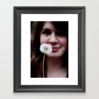 Whisp Framed Art Print