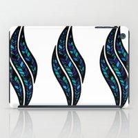 Leafy Blue iPad Case