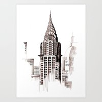 Chrysler Building, NYC Art Print