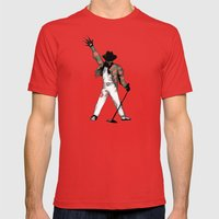 Scream Queen Mens Fitted Tee Red SMALL