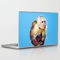 monkey Laptop & iPad Skins featuring Monkey by beart24