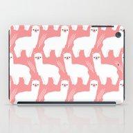 iPad Case featuring The Alpacas II by Littleoddforest