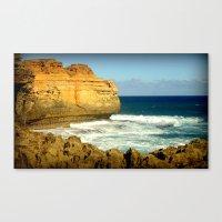 The rugged Coastline Canvas Print