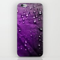Water Drops! iPhone & iPod Skin