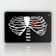 Skeleton Ribs Laptop & iPad Skin
