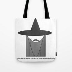 Gandalf Minimalist Tote Bag