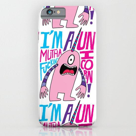 Mutha F'n Unicorn iPhone & iPod Case