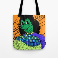 THE GREEN LADY. Tote Bag