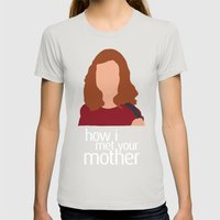 Lily Aldrin HIMYM Womens Fitted Tee Silver SMALL