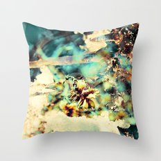 flowers & Ice. Throw Pillow