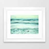 Vintage sea .... Framed Art Print