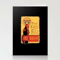 Les Furets de Feu Stationery Cards