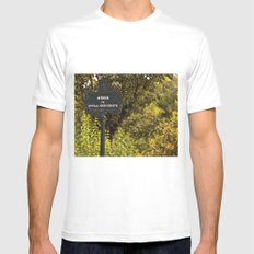 Paris Avenue SMALL Mens Fitted Tee White