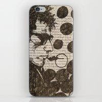 Bob Dylan Smoking The Bl… iPhone & iPod Skin