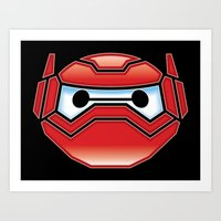 Robot In Disguise Art Print