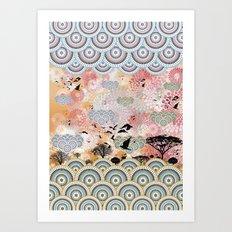 Diaspora 4 Art Print