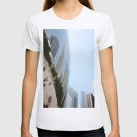 Distort Womens Fitted Tee Ash Grey SMALL
