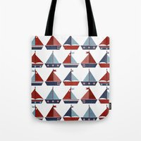 My Little Sail Boat. Tote Bag