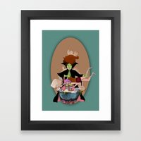 La Zuppa Framed Art Print