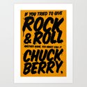 One of the most influential and inspiring people in music said this. PEACE Art Print
