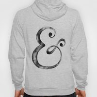 Ampersand Art Print Hoody