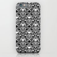 Skull Damask iPhone 6 Slim Case