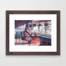 Cold In Yokohama 01 Framed Art Print
