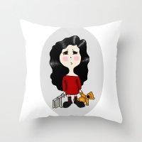 cartoon Throw Pillow