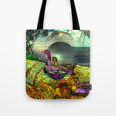 Doodlage 03 - An Afterno… Tote Bag