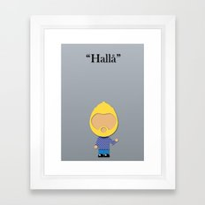 Swedish Framed Art Print