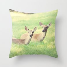 Oh, Deer Throw Pillow