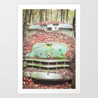 Old Chevy Blues Art Print