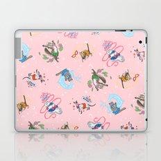 Sailor Kitties Pink Pattern Laptop & iPad Skin