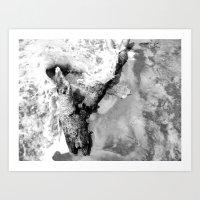 Moonswell Art Print