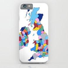 England, Ireland, Scotland & Wales Slim Case iPhone 6s