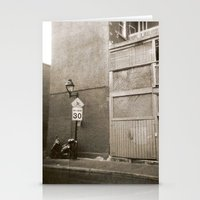 Montreal Street with Holga Stationery Cards