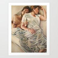 Origin of Love #4 Art Print