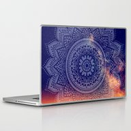 Night Mandala Laptop & iPad Skin