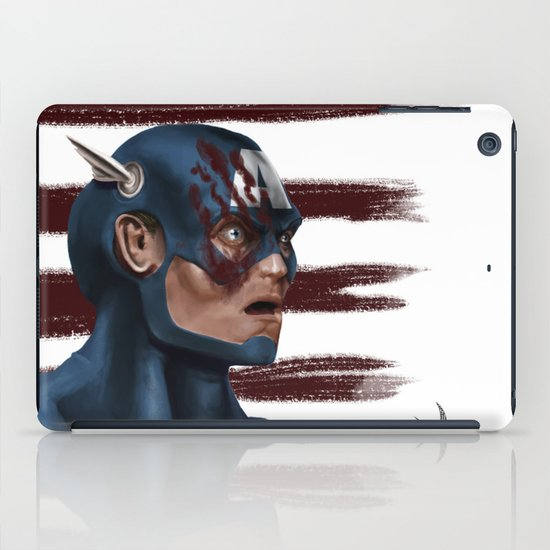 THE FACE COLLECTION - CAPTAIN AMERICA iPad Case