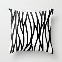 Raw Pattern Series: n. 4 Throw Pillow