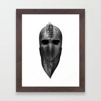 HoodSkull Framed Art Print
