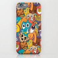 Weird Guys Pattern iPhone 6 Slim Case