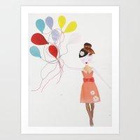 Up and away :) Art Print