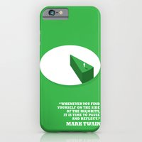 iPhone & iPod Case featuring Side Of The Majority by TheBluePen