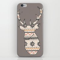 Fairisle Deer iPhone & iPod Skin