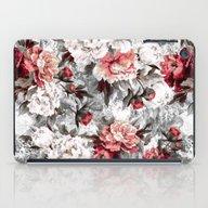 Watercolor Roses iPad Case