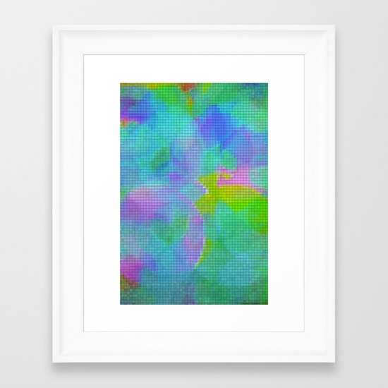 Squares#1 Framed Art Print