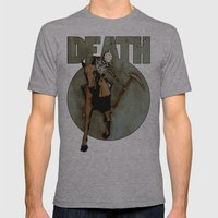 Giddyup Mens Fitted Tee Athletic Grey SMALL
