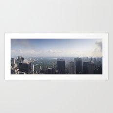 Central Park Panorama Art Print
